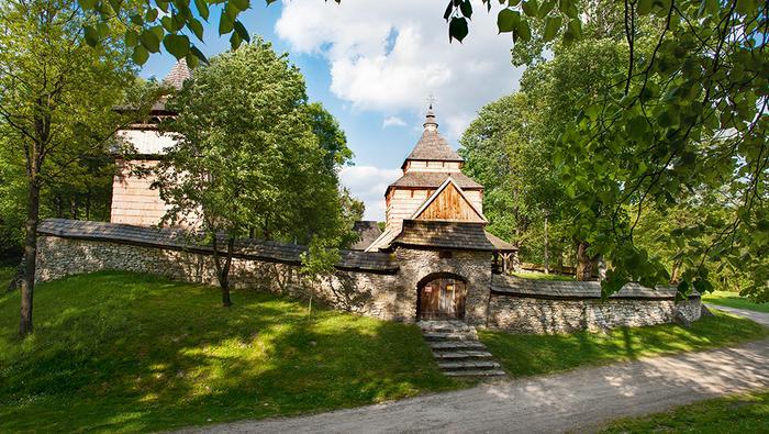 Roztocze Wschodnie - cerkiew w Radrużu