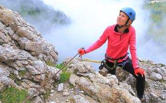 Via ferrata w Dolomitach