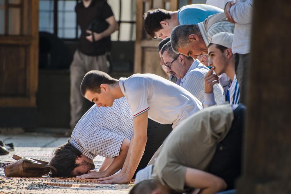 Muzułmanie w Sarajewie
