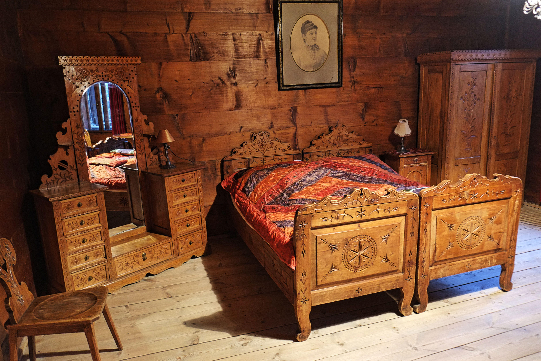 Pokój Sasankowy w Domu Muzealnym Ornak